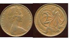 AUSTRALIE 2 cents 1966  ANM   ( bis )