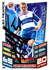 Reading F.C Alex Pearce Hand Signed 12/13 Premier League Match Attax.