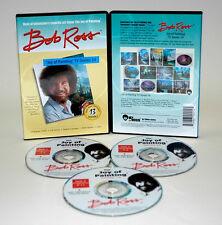 BOB ROSS, 3-disc DVD SET, Series 14 Teaches13 Paintings
