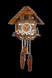 TRADITIONAL HERMLE TRIBERG CUCKOO WALL CLOCK NEW
