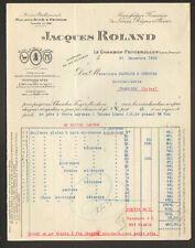 """LE CHAMBON-FEUGEROLLES (42) USINE de LIME & RAPE """"Jacques ROLAND"""" en 1935"""