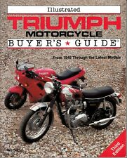Triumph Motorcycle, Illustrated Buyer's Guide, Roy Bacon 3rd Edition, F/SH