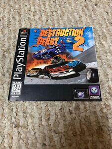 Destruction Derby 2 Black Label PS1 Sony PlayStation Instruction Manual Only
