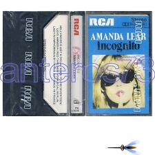 "AMANDA LEAR ""INCOGNITO"" RARE K7 MADE IN ITALY - SEALED"