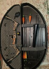 Mathews Solocam Q2 Hunting Bow 70# Left Hand W/ EXTRAS Hard Case Trophy Ridge