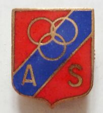 insigne AS FOOTBALL CLUB ASSOCIATION SPORTIVE F.D. émail ORIGINAL France