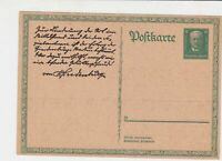 germany 1920s stamps card ref 18975