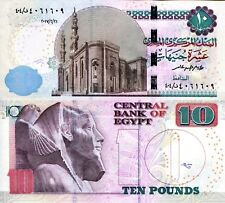 EGYPT 10 Pound Banknote World Paper Money UNC Currency Pick p73b 2017 Bill Note