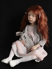 Laurence Ruet One of a kind hand sculpted Artist Doll (Rarely available)