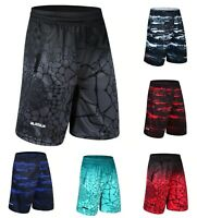 Mens LBJ Shorts LeBron James Basketball Pants Elites Sweatpant Breathable Sport
