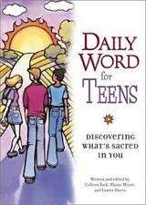 Daily Word for Teens: Discovering What's Sacred In You-ExLibrary