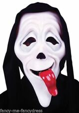 Máscaras y caretas color principal negro para disfraces de terror