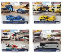 2020 Hot Wheels Car Culture Team Transport Case H Set of 4, 1/64 Cars FLF56-956H