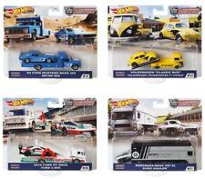 2020 Hot Wheels Car Culture Team Transport Case H Set of 4, 1/64 Cars FLF56-956H