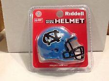 (1) Riddell Pocket Pro Football Helmet (North Carolina Tar Heels) 2014