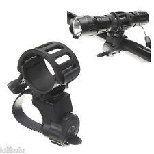 360 Bike Bicycle Flashlight Torch Mount Holder Light Holder Clip
