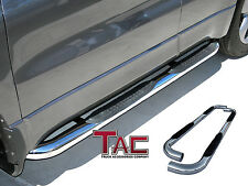 "TAC 1987-2006 JEEP WRANGLER (No Drilling) 3"" Stainless Steel Side Bars"