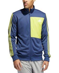 ADIDAS Men's Hybrid Colorblocked Track Jacket NEW NWT