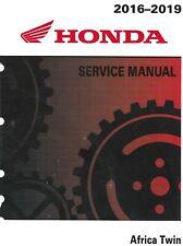 Honda 2018 2019 Africa Twin CRF1000 A D A2 D2 DCT Adventure Sport service manual