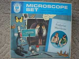 Sears Microscope Set with many Accessories