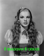 "JUDY GARLAND 8x10 Lab Photo 1939 ""WIZARD OF OZ"" Test Hair and Make Up Still"
