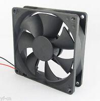 1pc Brushless DC Cooling Fan 80x80x25mm 80mm 8025 7 blades 5V 12V 24V  2pin fan