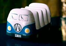 More details for vintage meelarp ceramics volkswagen van toast rack