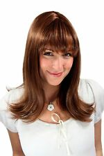 Women's Wig Ladies Brown Mix Long Smooth Points Wavy 50 cm 3218-5/114