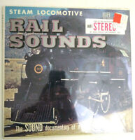 STEAM LOCOMOTIVE RAILROAD SOUNDS LP New Old Stock