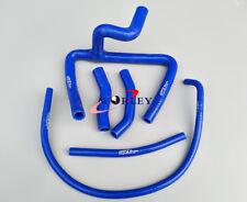 For Honda CR250R CR 250 R 2-stroke 00 01 2000 2001 Silicone radiator Y hose BLUE