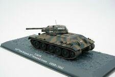 Fertigmodell 1:72 Soviet Kampfpanzer T-34/76 USSR 1942 WW2 WK2 gebraucht