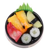 1:6 1:12 Dollhouse Miniature Sushi Bento Tiny Food Japanese Food Style A