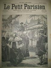 LONDRES JUBILé REINE ANGLETERRE TRAIN ASSASSINAT BULGARIE LE PETIT PARISIEN 1897