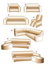 Stretch-Husse  für ein Eck-Sofa mit Ottomane RECHTS (s.Nr.7 auf 1.Foto) ---NEU