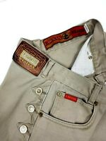 Lawman Women's Relax Fit Jeans  size 9/10 Tan Color  Western Cowgirl Heavy