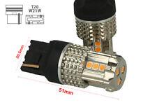 Lámpara Led 7740 T20 WY21W 12V 45W No Polaridad Naranja Super Potente