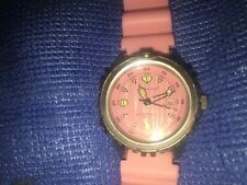 Ladies Stainless Steel Momentum M1  Diving Watch Pink On Pink Colors RARE!