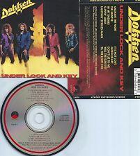 DOKKEN-UNDER LOCK AND KEY-1985-JAPAN-VICTOR COMPANY/ELEKTRA RECORDS 60458-2-CD-M