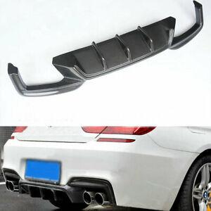 Carbon Fiber Rear Bumper Diffuser For BMW F06 F12 F13 Gran Coupe M6 12-16 14 15