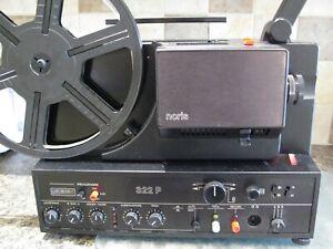 NORIS 322P Super 8mm sound Projector