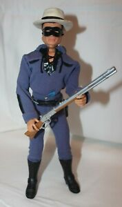 Vintage Ideal Captain Action 1967 as Lone Ranger in Blue Suit with figure