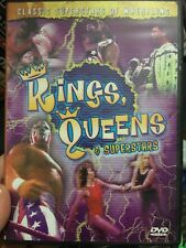 Classic Wrestling - Kings, Queens and Superstars DVD (RARE) wwe wcw ecw roh tna