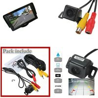 Car Rear View CMOS Camera Reversing Parking Cam Waterproof 170° HD with bracket