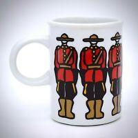Marc Tetro Royal Canadian Mounted Police Mug Danesco Canada Mounties Cup White