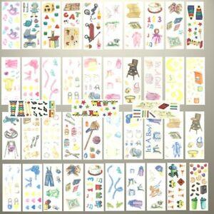 Creative Memories BABY BOY, GIRL & TODDLER STUDIO STICKERS - VARIETY TO CHOOSE