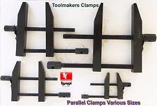 "3"" INCH 75 mm Liner Tool Makers Parallel Jaw Clamp Screws Grips DIY ENGINEERING"
