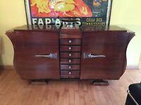 Art Deco Sideboard - Buffet - Anrichte - Kommode - Schrank - 20er Jahre Lyraform