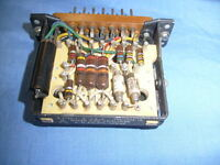 TUBE UNIT FROM SIGNAL CORPS RADIO ESTATE - MIXER AMPLIFIER PART SEE PICS / S1