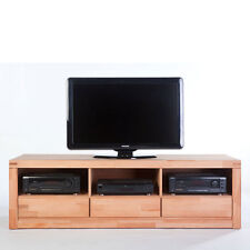 TV-Lowboard DELF Kernbuche Massiv geölt Schrank Regal K6208