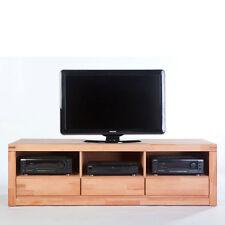 TV-Lowboard DELF Kernbuche Massiv geölt Schrank Regal K6208